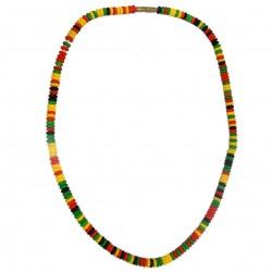 Close Rasta Collar Jamaica Jewelry Marley Surfer Color