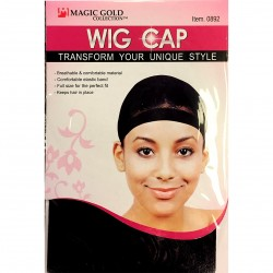 Bonnet Maintaining Wig Hairstyle Wigs Hairstyles Elastique Black