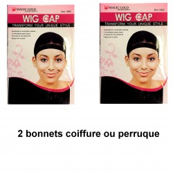 Bonnet Maintaining Wig Hairstyle Wigs HairsTyly Elastic Black Comfort