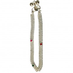 Foot Chain India Silver Indian Jewelry Bollywood Indian Jewelry