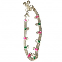 Foot Chain India Silver Indian Jewelry Indian Cheville Bollywood Chevilles