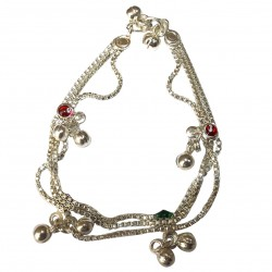 Foot Chain Cheville Jewelry Chevilles India Indian Traditional Bollywood
