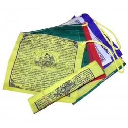Garland Flag Tibet Buddhism Himalayan Prayers Mantra