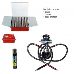 Lot Chicha Coal Briquet Narguilé Pinch Smoking Smoke
