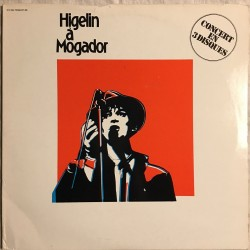 """Disc 33 Tours Higelin """"Mogador"""" French Rock"""