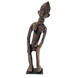 Statue Lobi Burkina Africa African Art Collection