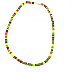 Collar Afrique Pearls Neck Rasta Marley Ethnic Clasp