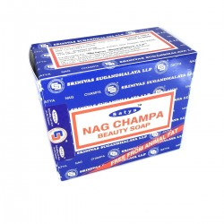 Soap Nag Champa Satya Indian Natural Skin Cleaner