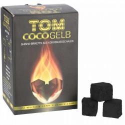 Coal Tom Cocogelb 1kg Natural 100% Coconuts Of Coco Narguilé