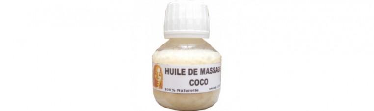 Natural coconut oil.