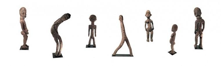 Lobi statue of Burkina Faso