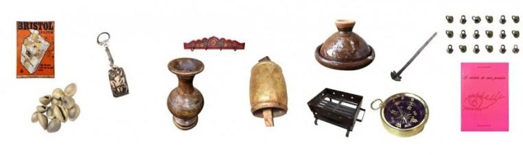 bells, books, key doors, umbrellas, shells, pinatas
