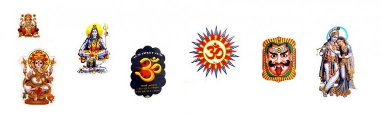 Stickers from India