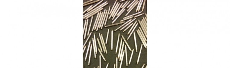 1.6 mm surgical steel piercing.