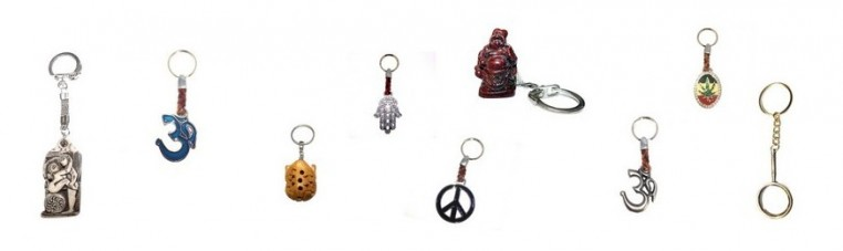 Keyrings to customize your set of keys.