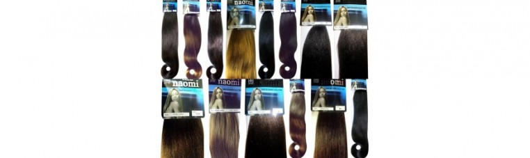 Packages of short pony wick and different colors.