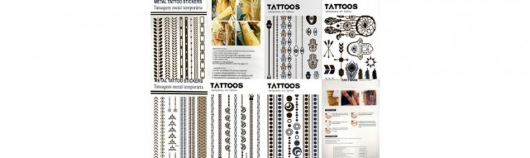 Temporary tattoos of very good quality.