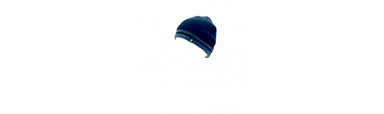 Synthetic wool cap for winter.