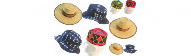 Traditional and original hats and hats of the world.