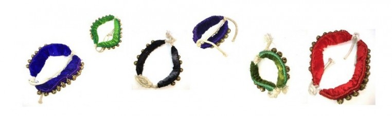 The Ghunghuru or Ghungroo is a bracelet with bells that can be worn at the arm or ankle.
